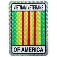 Vietnam Veterans of America Decal - HATNPATCH