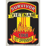 Survivor Tet Vietnam Decal