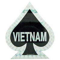 Vietnam Ace of Spades Decal