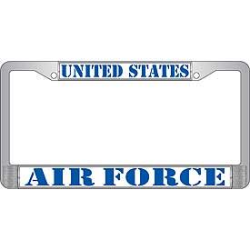 United States Air Force License Plate Frame - HATNPATCH