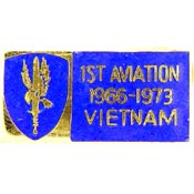 1st Aviation Brigade Vietnam Hat Pin - HATNPATCH