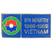 9th Infantry Vietnam Hat Pin - HATNPATCH