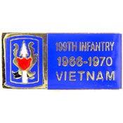 199th Infantry Vietnam Hat Pin - HATNPATCH