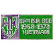 18th MP Brigade Vietnam Hat Pin - HATNPATCH