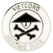Vietcong Hunting Club Vietnam Hat Pin - HATNPATCH