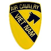 1st Air Cavalry Vietnam Hat Pin - HATNPATCH