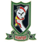 VC Hunter Vietnam Hat Pin