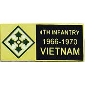 4th Infantry Vietnam Hat Pin - HATNPATCH