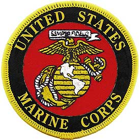 USMC Seal Marine Corps Patch