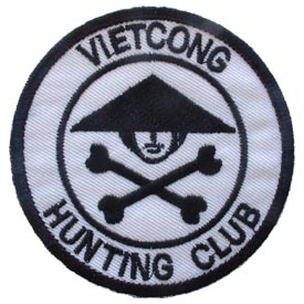 Viet Cong Hunting Club Vietnam Patch