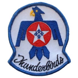 THUNDERBIRDS Air Force Patch - HATNPATCH