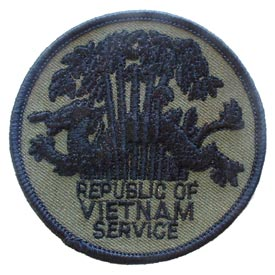 RVN OD Subdued Vietnam Patch