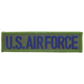 U.S. AIR FORCE,TAB BLU/GRN Patch - HATNPATCH