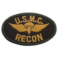 USMC Recon w/ Wings Marine Corps Patch - HATNPATCH