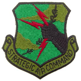 SAC Subd Air Force Patch