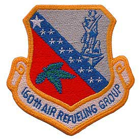 160TH Air Refuel Grp Air Force Patch - HATNPATCH