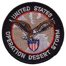 OPERATION DESERT STORM EAGLE PATCH
