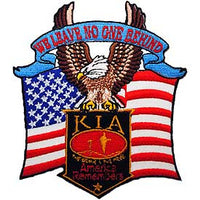 We Leave No One Behind America Remembers KIA POW/MIA Patch - HATNPATCH