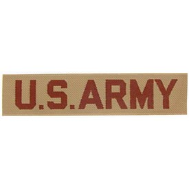 US Army Tab Desert Printed Patch