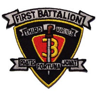 1st Battalion 3rd Marine Regiment 1/5 Marine Corps Patch - HATNPATCH