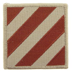 3rd Infantry Division Desert Army Patch - HATNPATCH