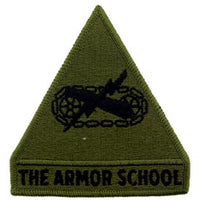 The Armor School Subd Army Patch - HATNPATCH