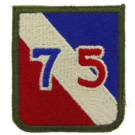 75th Infantry Division Army Patch