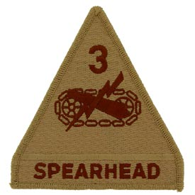 3rd Armored Division Desert Army Patch - HATNPATCH