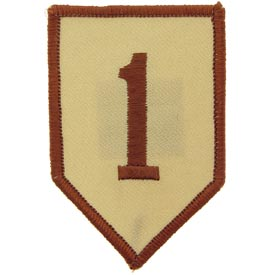 1st Infantry Division Desert Army Patch - HATNPATCH