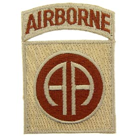 82nd Airborne Division Desert Army Patch - HATNPATCH