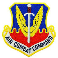 Air Comabt Command Air Force Patch