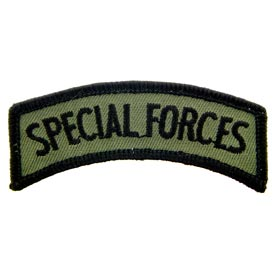 Special Forces Rocker Tab Subd Army Patch