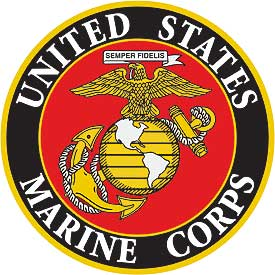 US Marine Corps Seal Patch