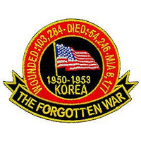 Korea The Forgotten War Patch - HATNPATCH