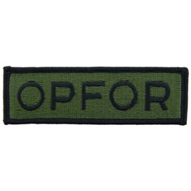 OPFOR OD Subd Army Patch