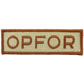 OPFOR Desert Army Patch - HATNPATCH