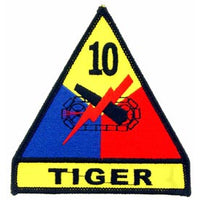 10th Armored Division Army Patch