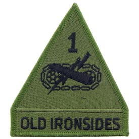 1st Armored Division OD Subd Army Patch - HATNPATCH