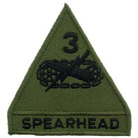 3rd Armored Division OD Subd Army Patch - HATNPATCH