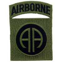 82nd Airborne Division OD Subd Army Patch - HATNPATCH