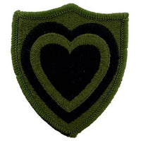 24th Corps OD Subd Army Patch - HATNPATCH