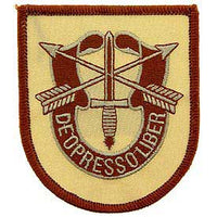 Special Forces De Oppressor Liber Desert Army Patch - HATNPATCH