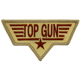 Top Gun Desert Navy Patch - HATNPATCH