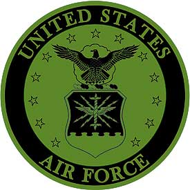US Air Force Seal (Old) Subd Patch