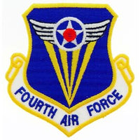Fourth Air Force Patch - HATNPATCH