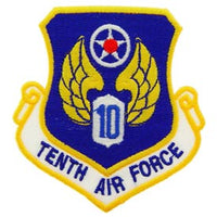 Tenth Air Force Patch - HATNPATCH