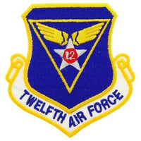 Twelfth Air Force Patch - HATNPATCH