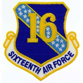 Sixteenth Air Force Patch - HATNPATCH