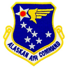 Alaskan Air Command Air Force Patch - HATNPATCH