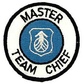 Master Team Chief Sytems Command Air Force Patch - HATNPATCH